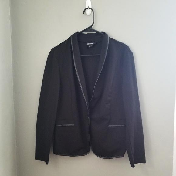 Dkny Jackets & Blazers - DKNY I Black one button blazer jacket size 14